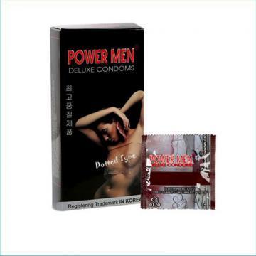 Hộp bao cao su gai Power Men Dotted Type 12 chiếc