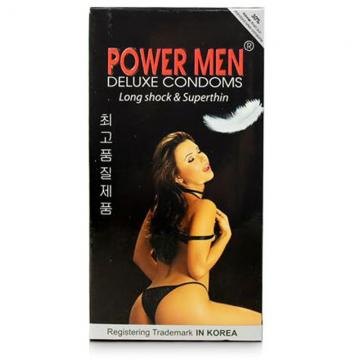 Hộp bao cao su Power Men Long Shock 12 chiếc