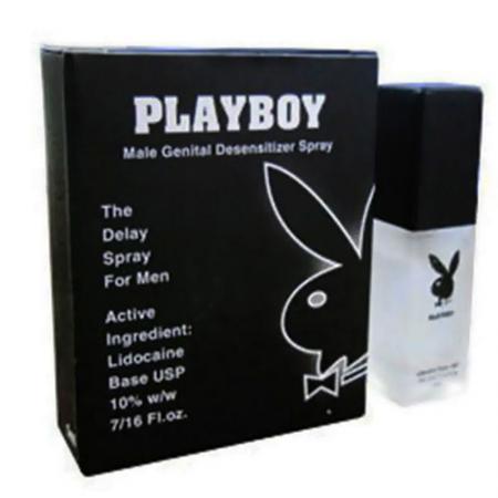 Chai xịt kéo dài thời gian quan hệ Playboy USA
