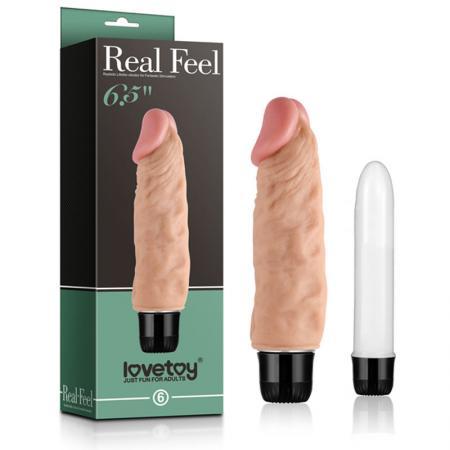 Dương vật giả rung Real Feel 6.5 Lovetoy