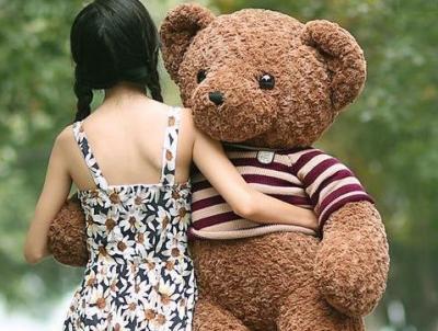 Gấu bông teddy lông xoắn cực Hot