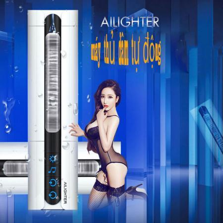 Máy bú mút tự động rung thụt xoay, tỏa nhiệt Ailighter cao cấp