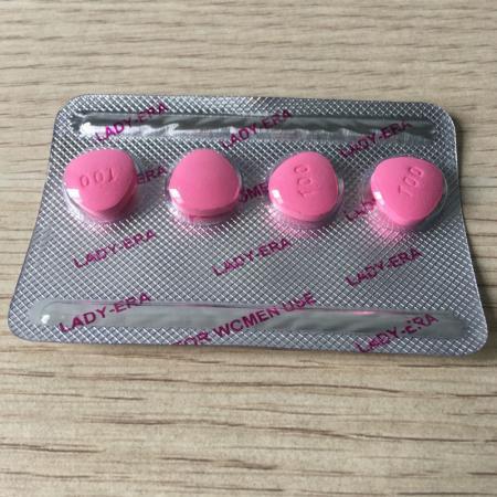 Thuốc kích dục nữ dạng viên Lady Era Mỹ