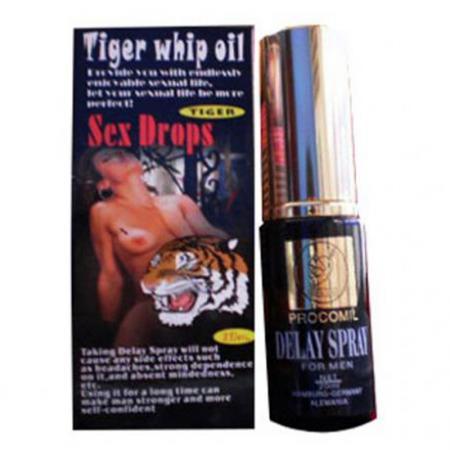 Chai xịt trị xuất tinh sớm Tiger Delay Spray USA