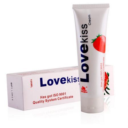 Gel bôi trơn hương dâu cao cấp Love Kiss 100ml