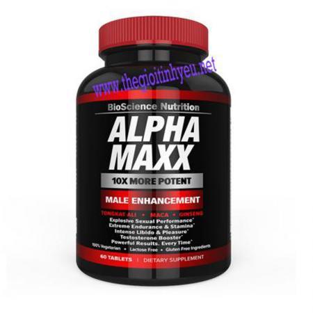 Thuốc tăng kích thước dương vật Alpha Maxx USA